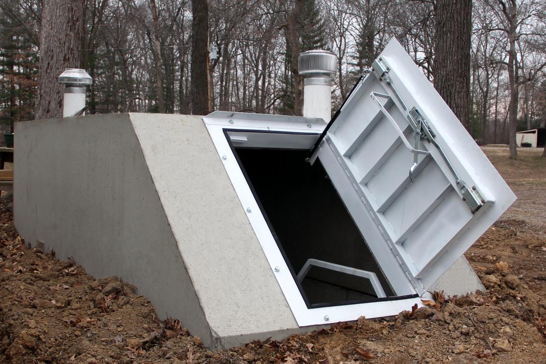 precast concrete storm shelters